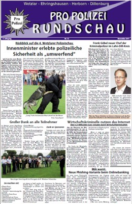 Propolizei Rundschau November 2011 als pdf